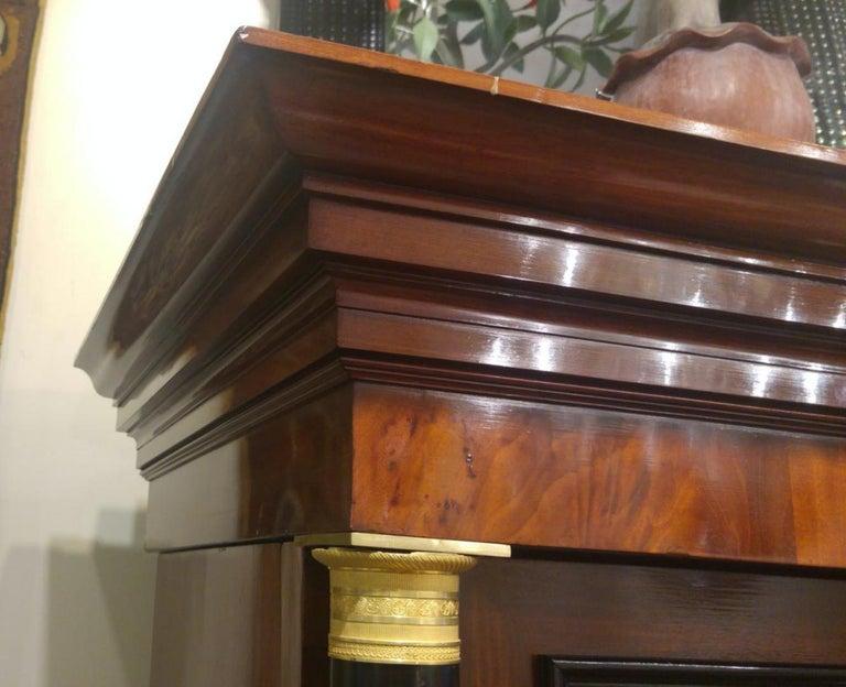 19th Century Importante Secrétaire Bierdermeier, 1820-1830 For Sale