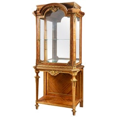 Imposing French 19th Century Display Cabinet