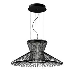 Impossible B Ø 105 Black Pendant Lamp by Massimo Mussapi