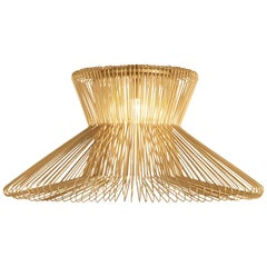 Impossible B Ø 105 Gold Pendant Lamp by Massimo Mussapi