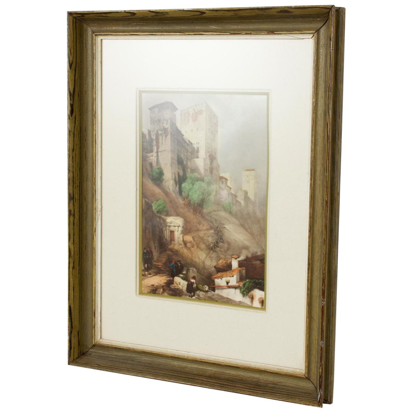 Impressionism European Landscape Lithograph on Paper