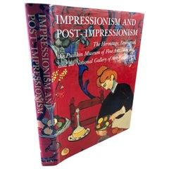 Impressionism & Post Impressionism Vintage 1986 1st Edition Collector Book