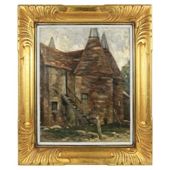 Impressionist 19th Century French Farmhouse