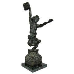 Impressionist Bronze Sculpture of Perseus and Medusa