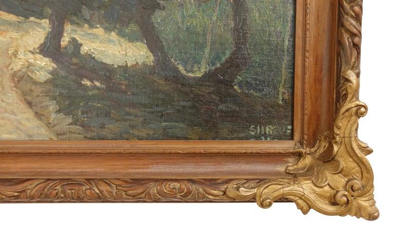 20th Century Impressionist Landscape Painting, Signed Shreve 1923 For Sale