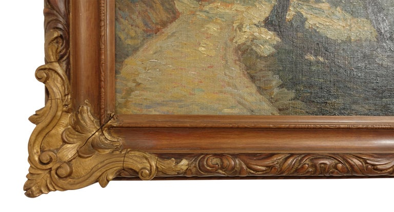 Impressionist Landscape Painting, Signed Shreve 1923 For Sale 1