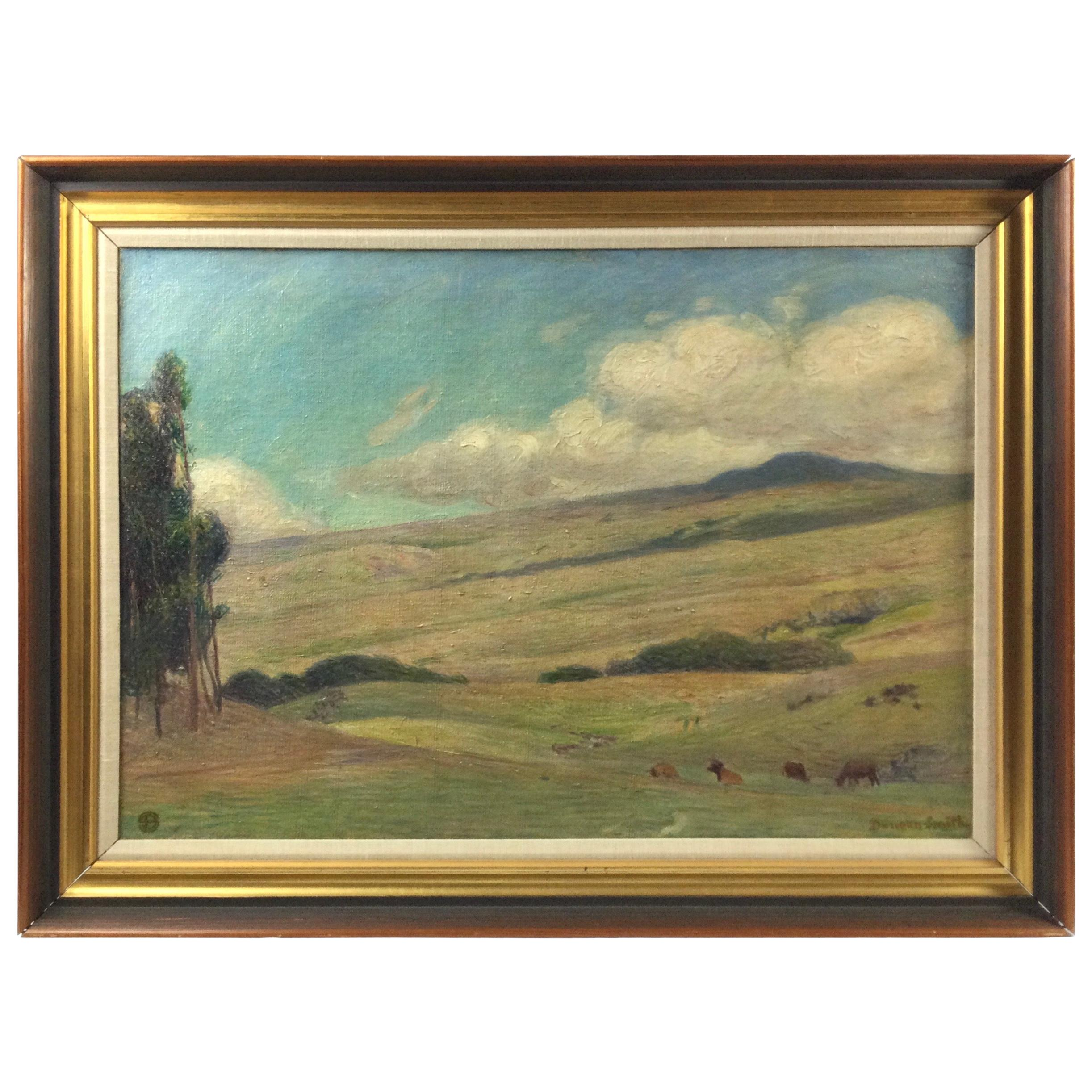 Impressionist Oil on Canvas by Listed Artist Duncan Smith