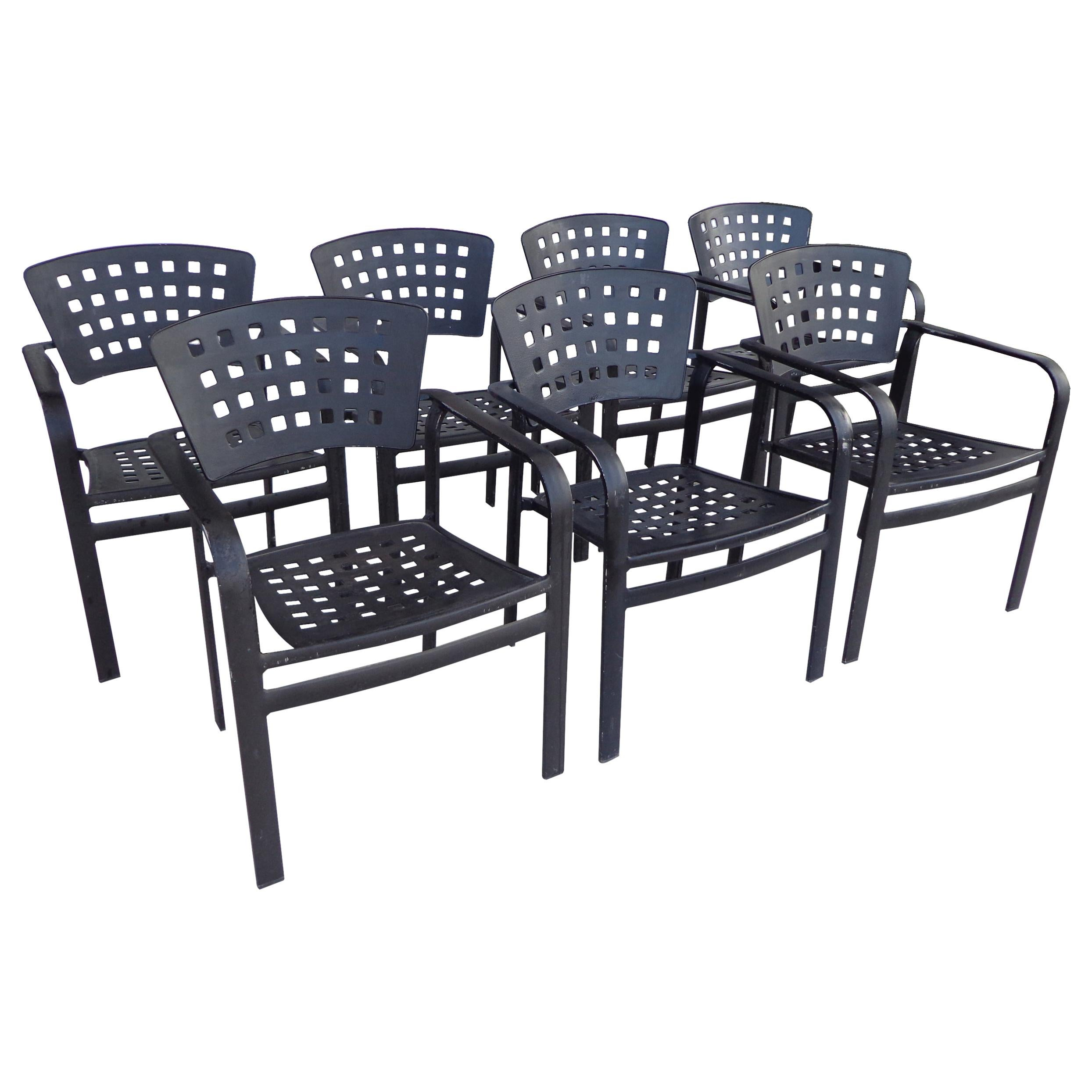 Impressions Aluminum Stacking Outdoor Chair by Tropitone