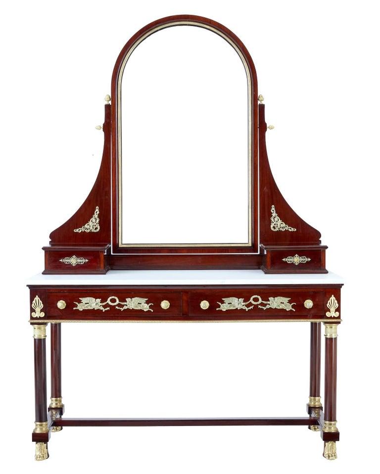 Impressive 19th Century French Empire Revival Five-Piece ...