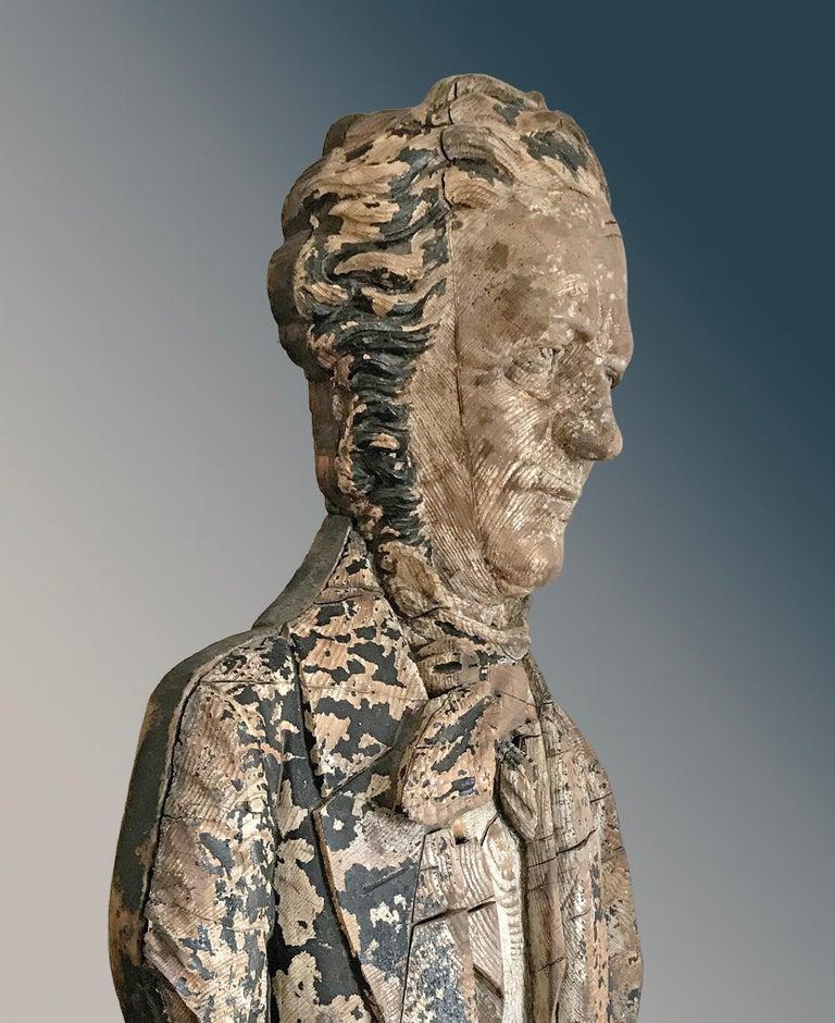 Folk Art Impressive Antique Sternboard Carving