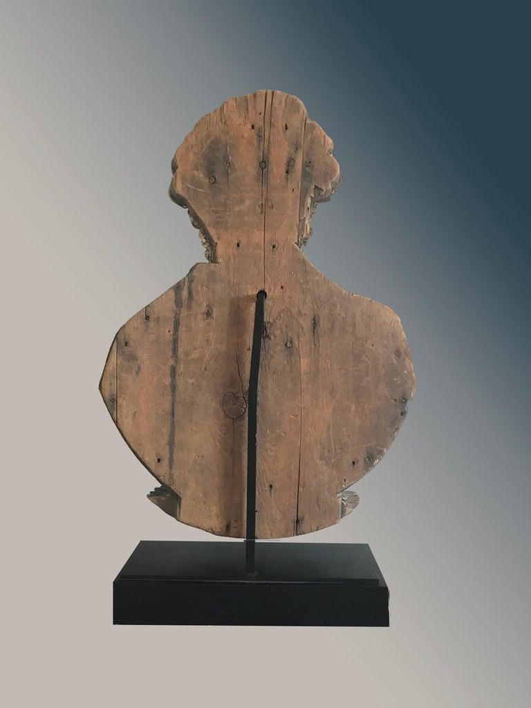 Hand-Carved Impressive Antique Sternboard Carving