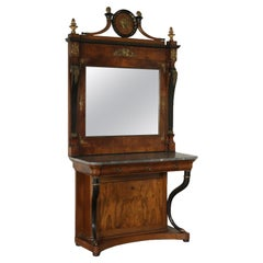 Impressive Console with Mirror, Italy, Second Quarter of the 1800s