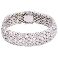 Impressive Diamond 9-Row Bracelet
