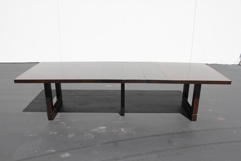 Impressive Edward J. Wormley attributed for Dunbar Dining Table For Sale 2