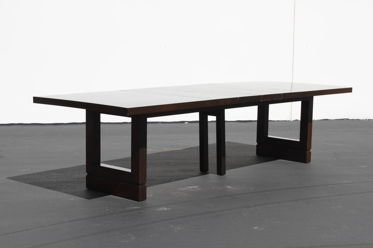 Impressive Edward J. Wormley attributed for Dunbar Dining Table For Sale 4