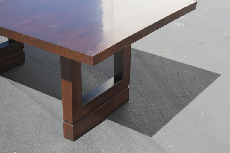 Impressive Edward J. Wormley attributed for Dunbar Dining Table For Sale 5