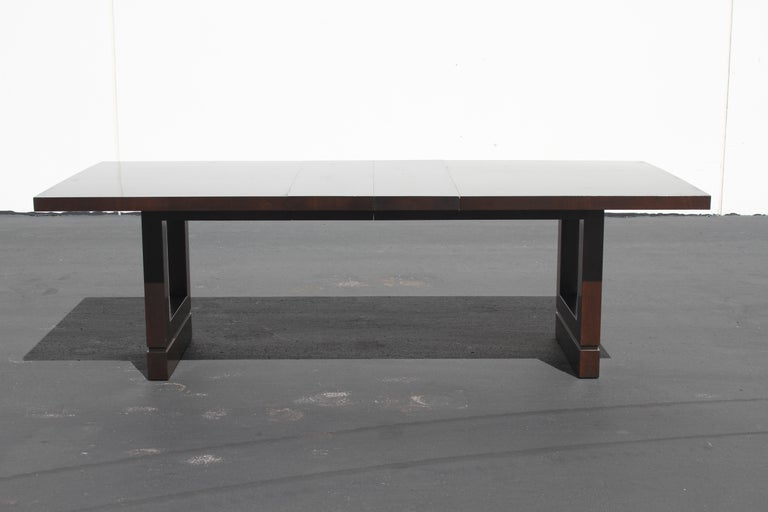 Impressive Edward J. Wormley attributed for Dunbar Dining Table For Sale 7