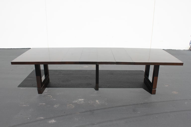 Impressive Edward J. Wormley attributed for Dunbar Dining Table For Sale 8