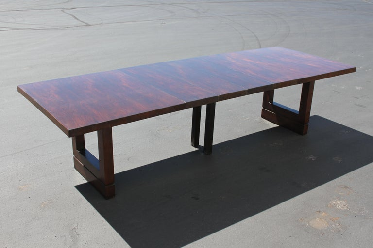 Impressive Edward J. Wormley attributed for Dunbar Dining Table For Sale 9