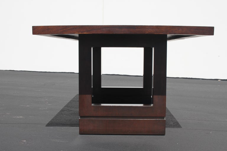 American Impressive Edward J. Wormley attributed for Dunbar Dining Table For Sale