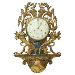 Impressive Empire Period, Bronze Gilded Pendulum Clock, Stockholm