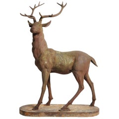 Impressive French Red Deer