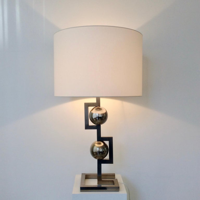 Impressive Geometrical Table Lamp, circa 1970, Italy 10
