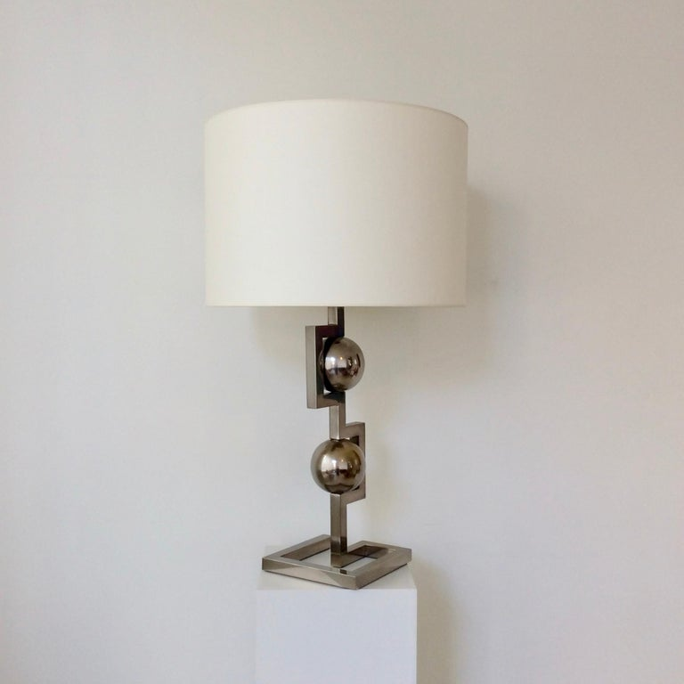 Impressive Geometrical Table Lamp, circa 1970, Italy 12