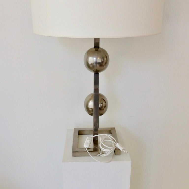 Impressive Geometrical Table Lamp, circa 1970, Italy 5