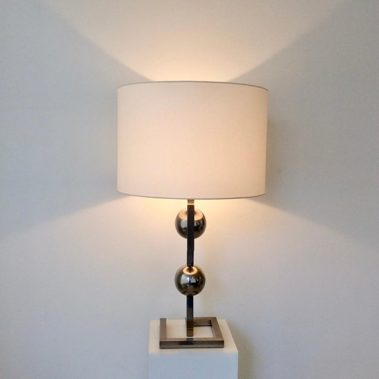 Impressive Geometrical Table Lamp, circa 1970, Italy 7
