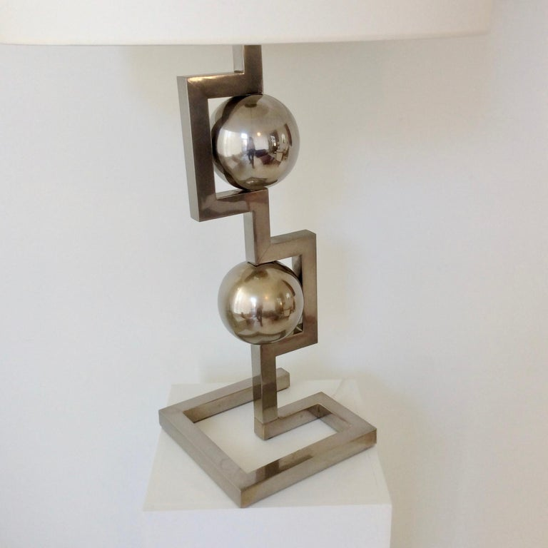 Impressive Geometrical Table Lamp, circa 1970, Italy 9