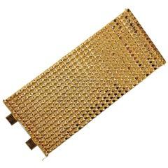 Impressive Gold Extra Wide Bracelet
