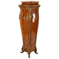 Impressive Louis XVI Style Ormolu Mounted Pedestal