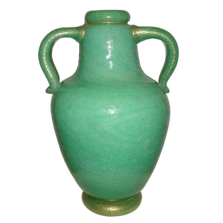 Impressive Napoleone Martinuzzi Pulegoso Amphora Vase