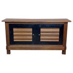 Impressive Oak Sideboard by Charles Dudouyt for La Gentilhommière