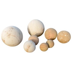 Impressive Sandstone Balls in Various Sizes, 20th Century
