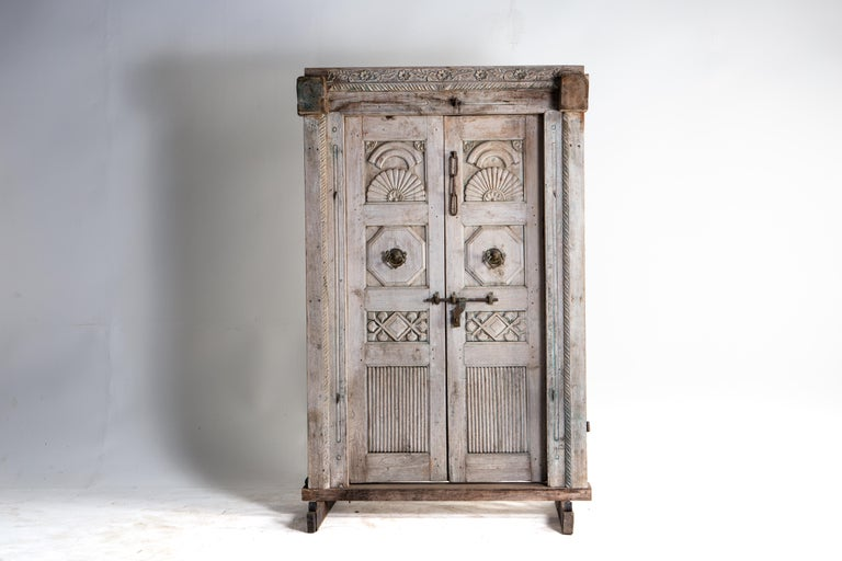 Impressive Set of Indian Doors with Surround For Sale 1