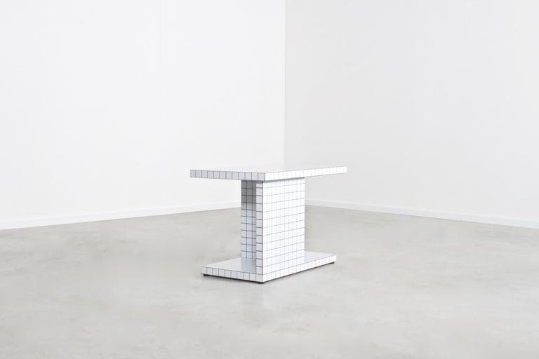 20th Century Impressive Superstudio 'Quaderna' End Table, 1971