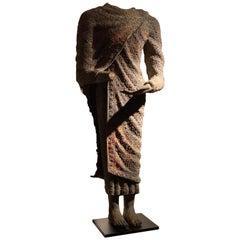 Impressive Torso of Buddha, Bronze