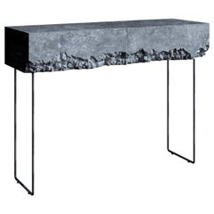 Impressive Vanity Table with Rough Texture, Breakfree Collection