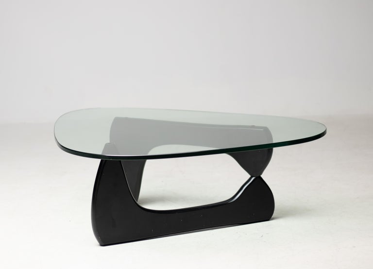 Lacquered IN-50 Low Table by Isamu Noguchi For Sale