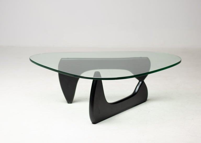 Glass IN-50 Low Table by Isamu Noguchi For Sale