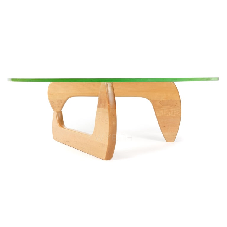 Mid-Century Modern IN-50 Low Table by Isamu Noguchi for Herman Miller For Sale