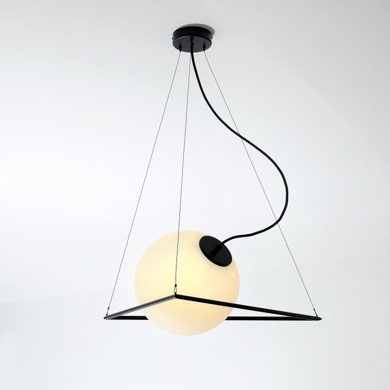 In-circle pendant lamp by Olek Vojtek