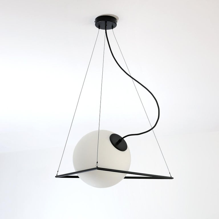 In-Circle Pendant Lamp by Olek Vojtek For Sale 1