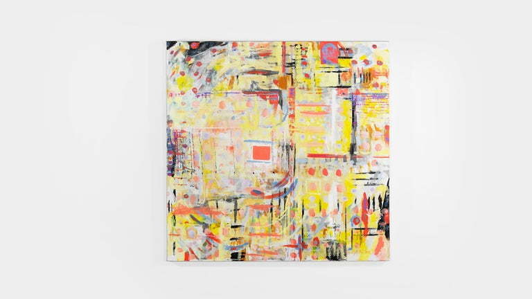 Medium: Acrylic on canvas Subject matter: Abstract Size: 48