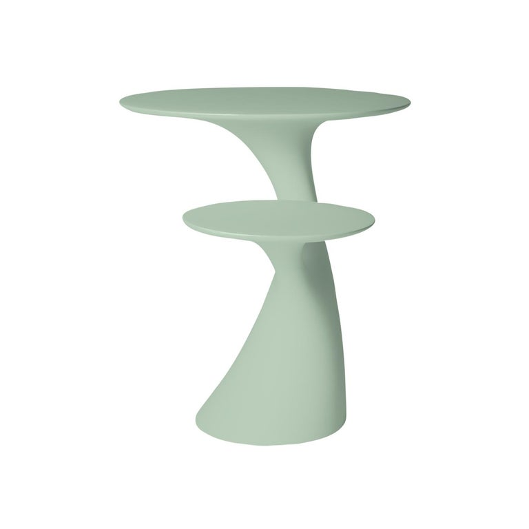 Italian In Stock in Los Angeles, Balsam Green Rabbit Children Table, Made in Italy For Sale