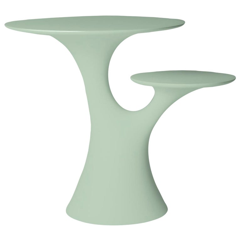 In Stock in Los Angeles, Balsam Green Rabbit Children Table, Made in Italy For Sale