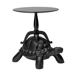 In Stock in Los Angeles, Black Turtle Coffee Table, Designed by Marcantonio