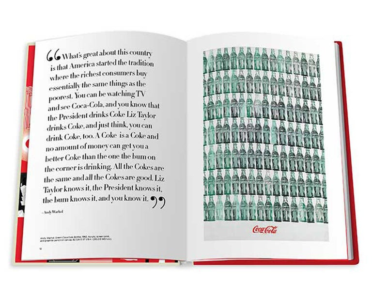 Paper in Stock in Los Angeles, Coca-Cola Kiss the past Hello by Stephen Bayley For Sale